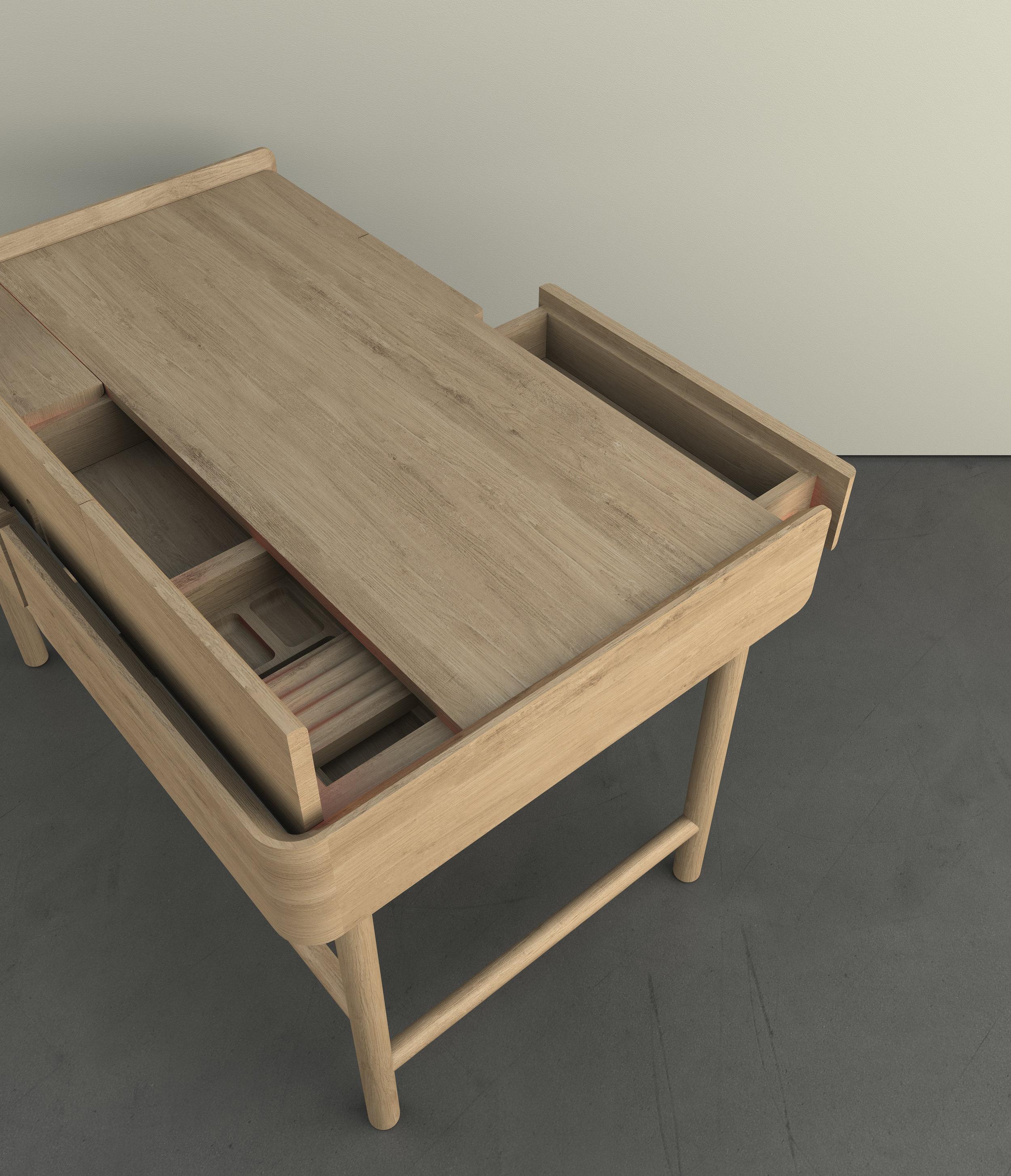 Hideout desk