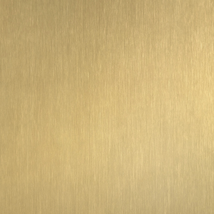 GOLD HAIRLINE STAINLESS STEEL -