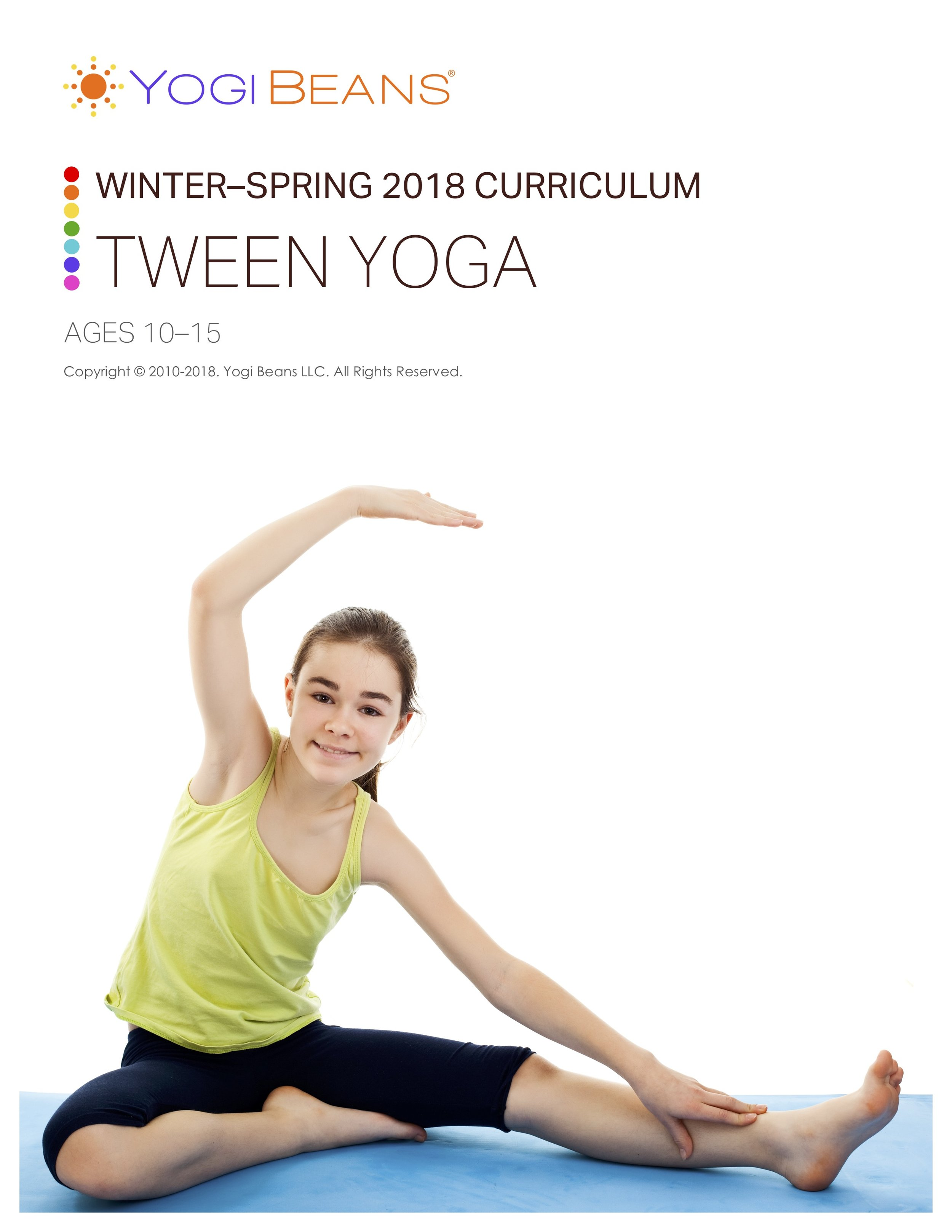 TWEEN YOGA (AGES 10-15)