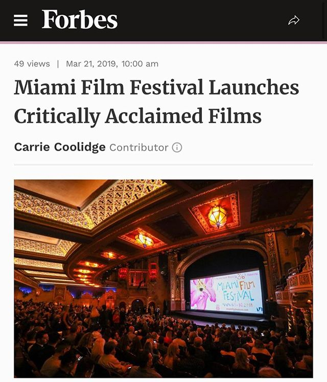 Thank you @forbes for including VANDAL in this article about this year's @miamifilm and our world premiere. 🙏🏼❤️🎥 #vandalmovie #exilium17 #miamiff #danielzovatto #richardschiff #tetazo17 #mokibaby #josedanielfreixas