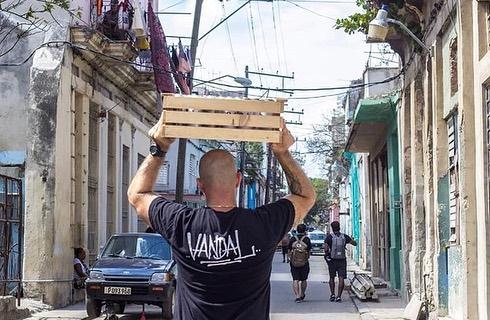 VANDAL in Cuba 👊🏼🇨🇺 #vandalmovie #FreeCuba #Exilium17 #Abstrk #Dadewear #theseventhletter