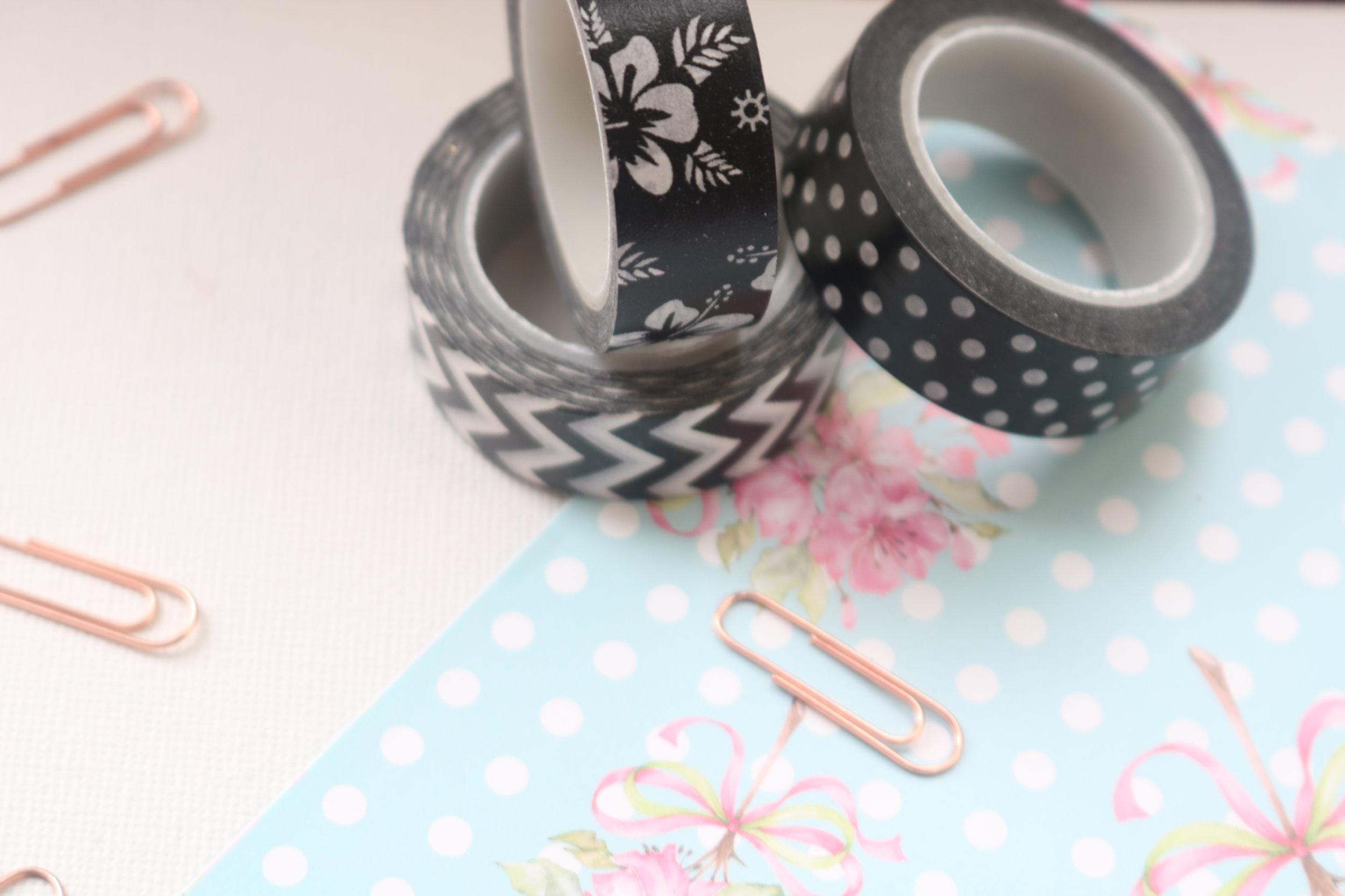 washi tape use