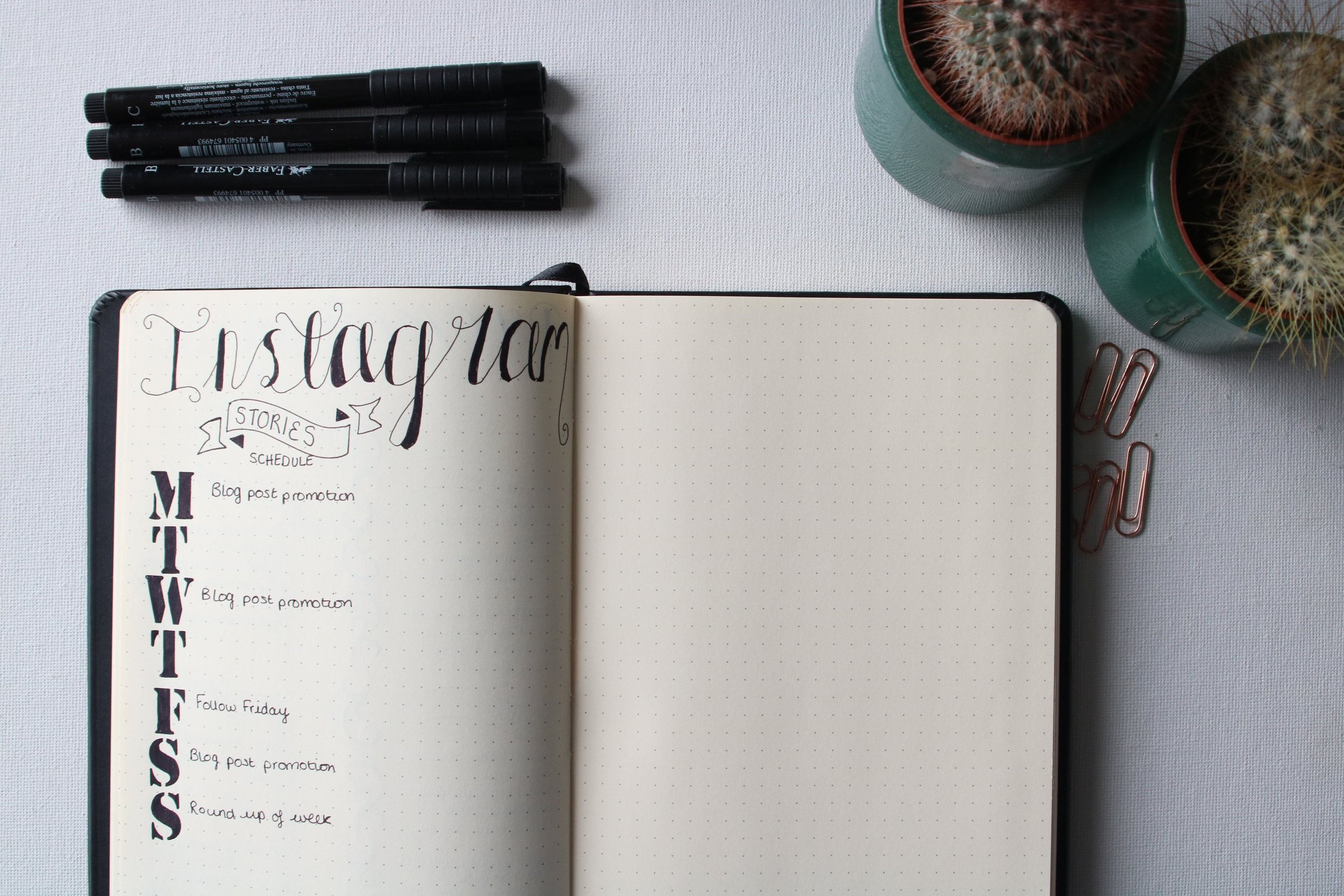 My Blogging Bullet Journal