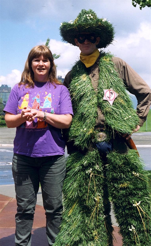 Jan Kilburn and Lawn Ranger
