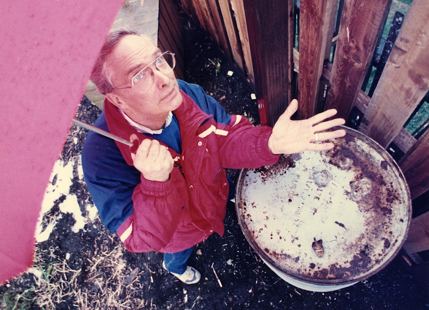 Wes Barrett, Head Gardener
