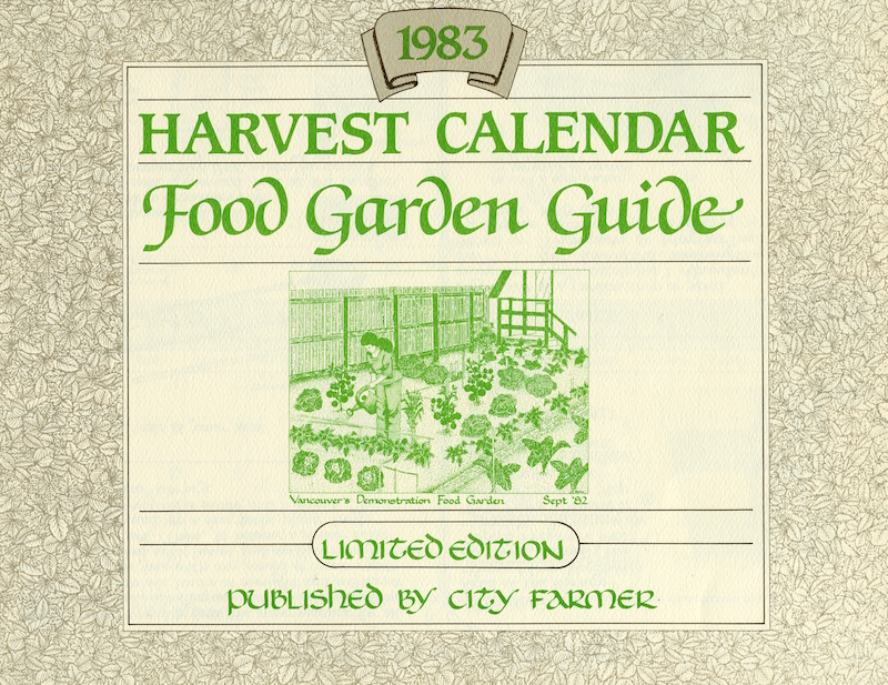 An example of the beautiful calendars we produced, designed by Sue Fox.