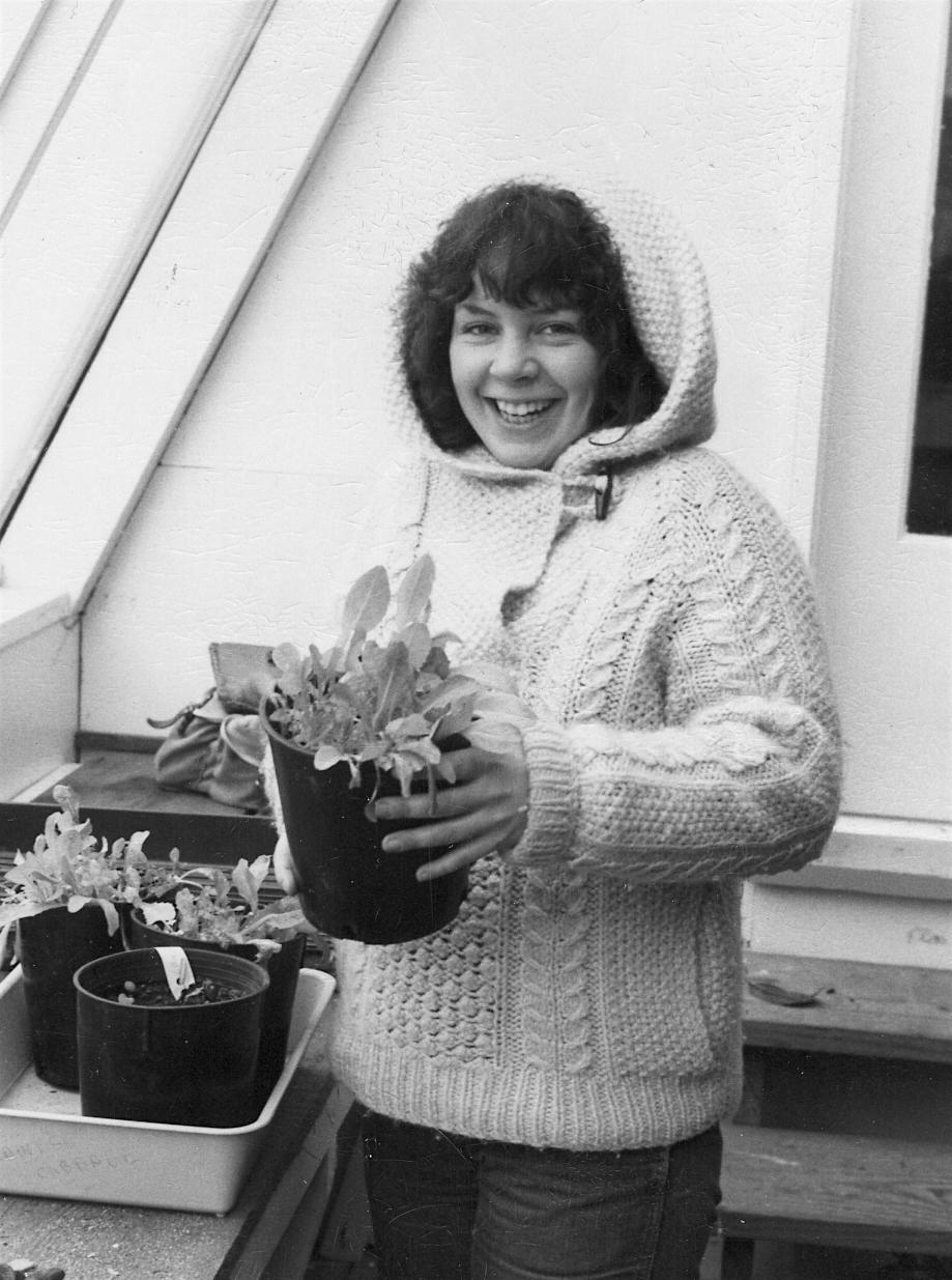 Debbie, Gardener