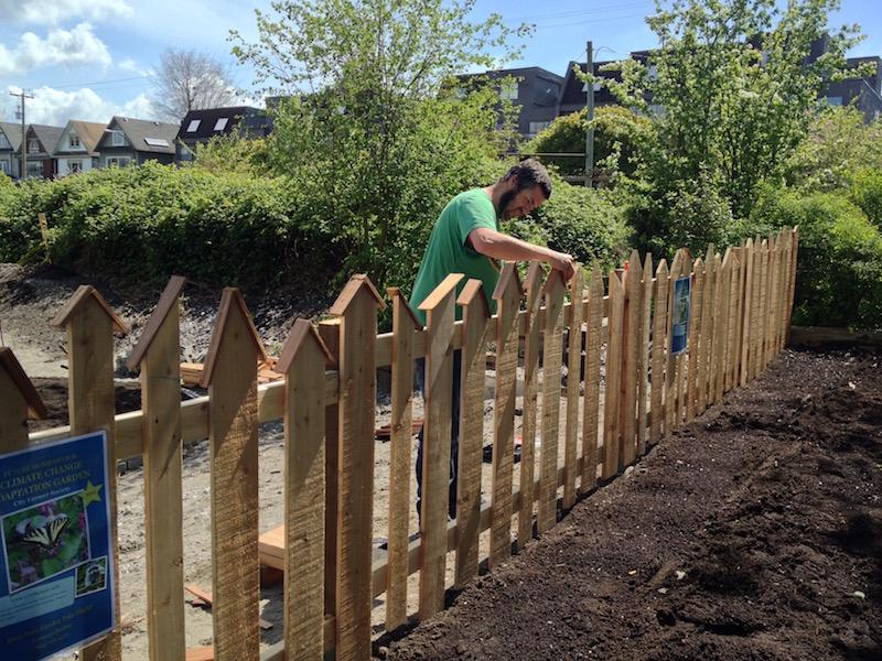 Building the Bird's Nest Fence
