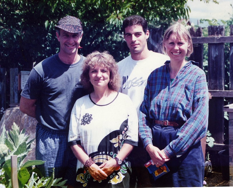 Mike, Cathy, Dino. Gill