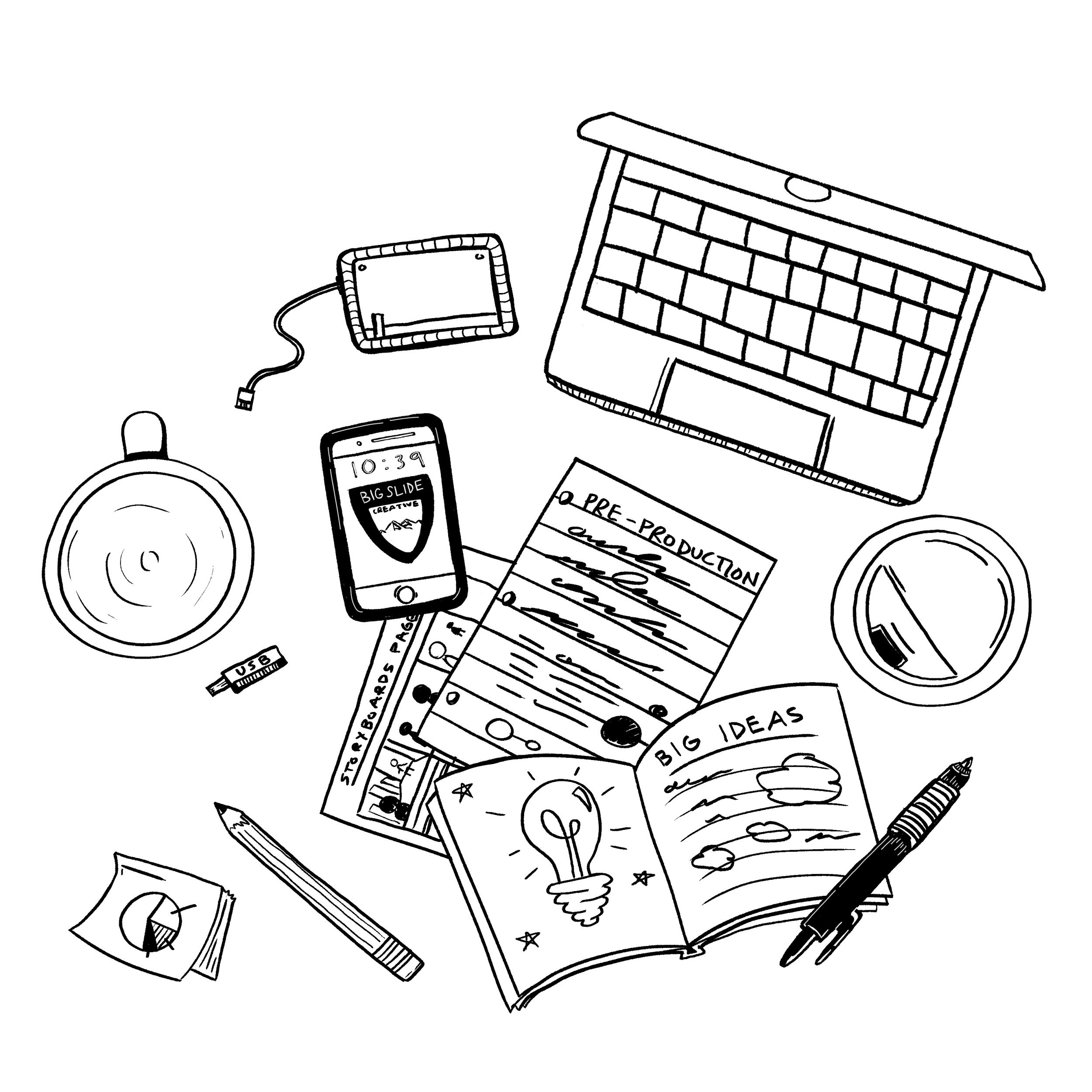 Creative - Concept DevelopmentStoryboardingCopywritingScriptwritingLocation Scouting