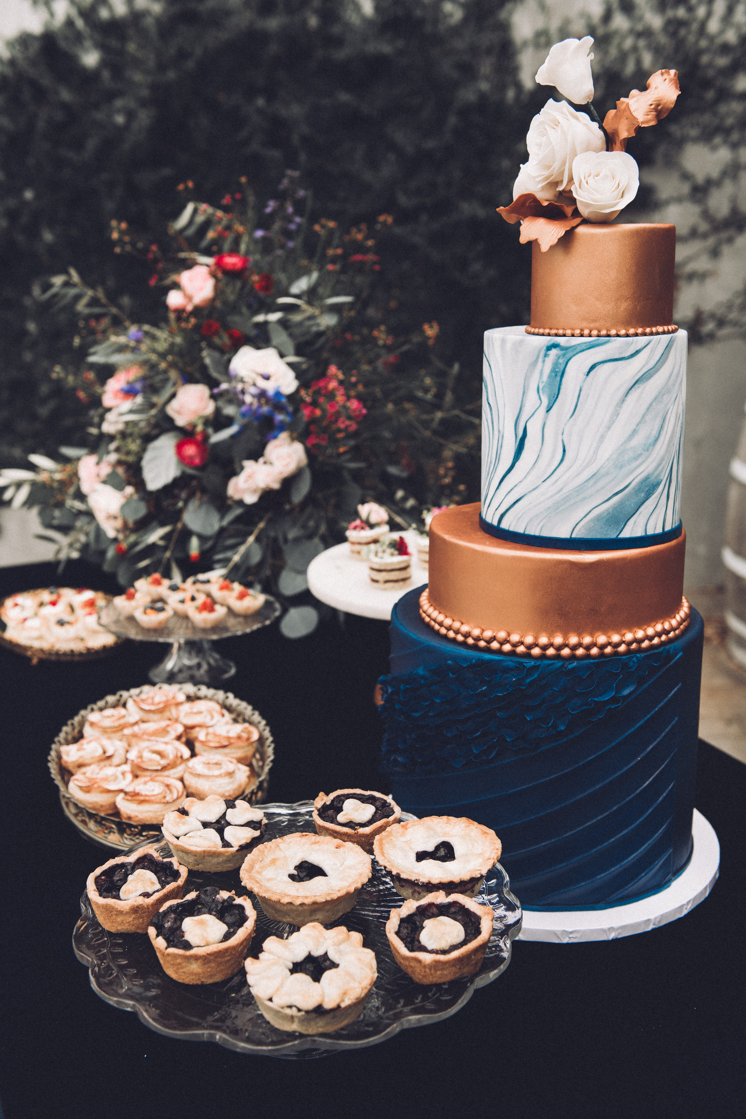 - An Instagram worthy dessert table with many options to choose from.