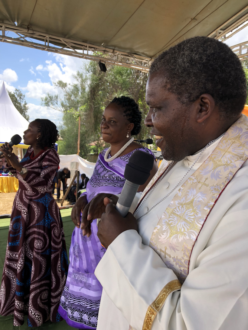 We were grateful to have as one of our hosts the Anglican Bishop Nathan Gasatura.