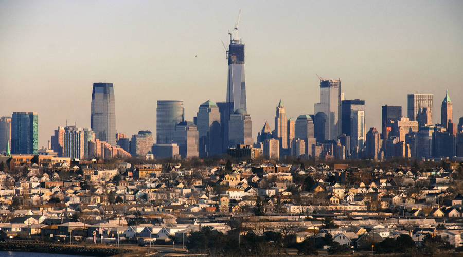 The view of the New York City skyline from New Jersey, where many businesses are being lured by tax incentives. -  Steve Santore/Flickr