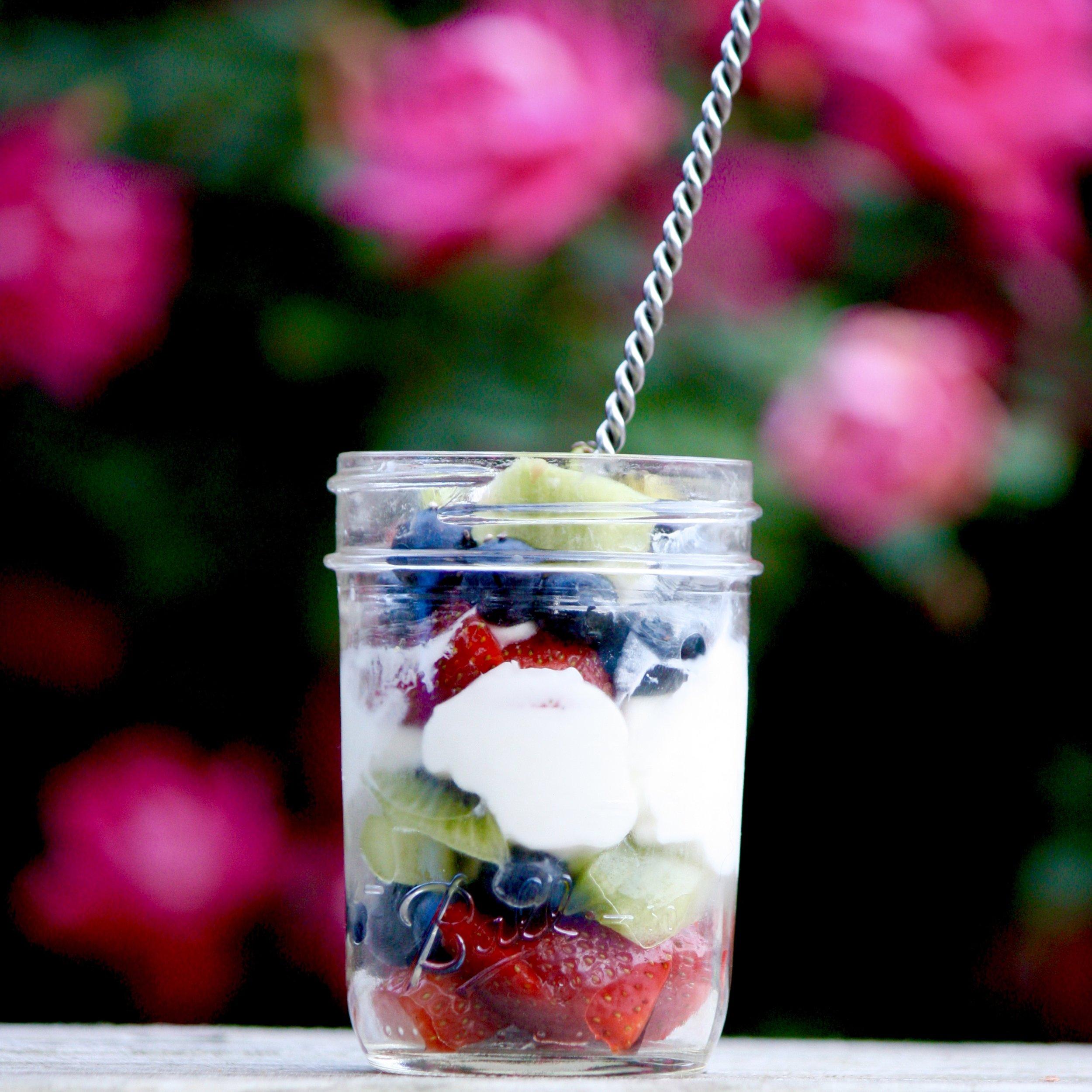 Instant pot yogurt parfait