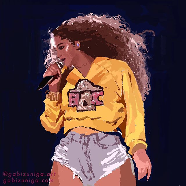 warmup • beychella  because I've listened to the live album non stop. #photoshop#adobe#beyonce#homecoming