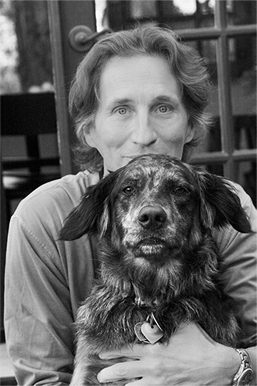 David and his ever faithful companion Mocha © Pam Schwarz 2008
