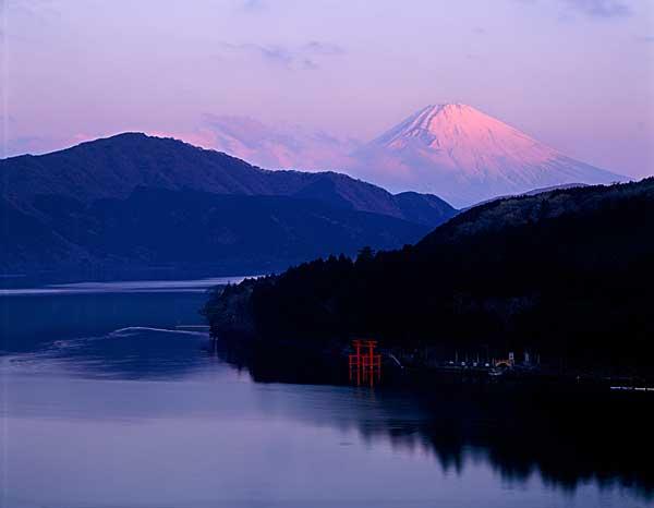 Mt. Fuji And The Gate