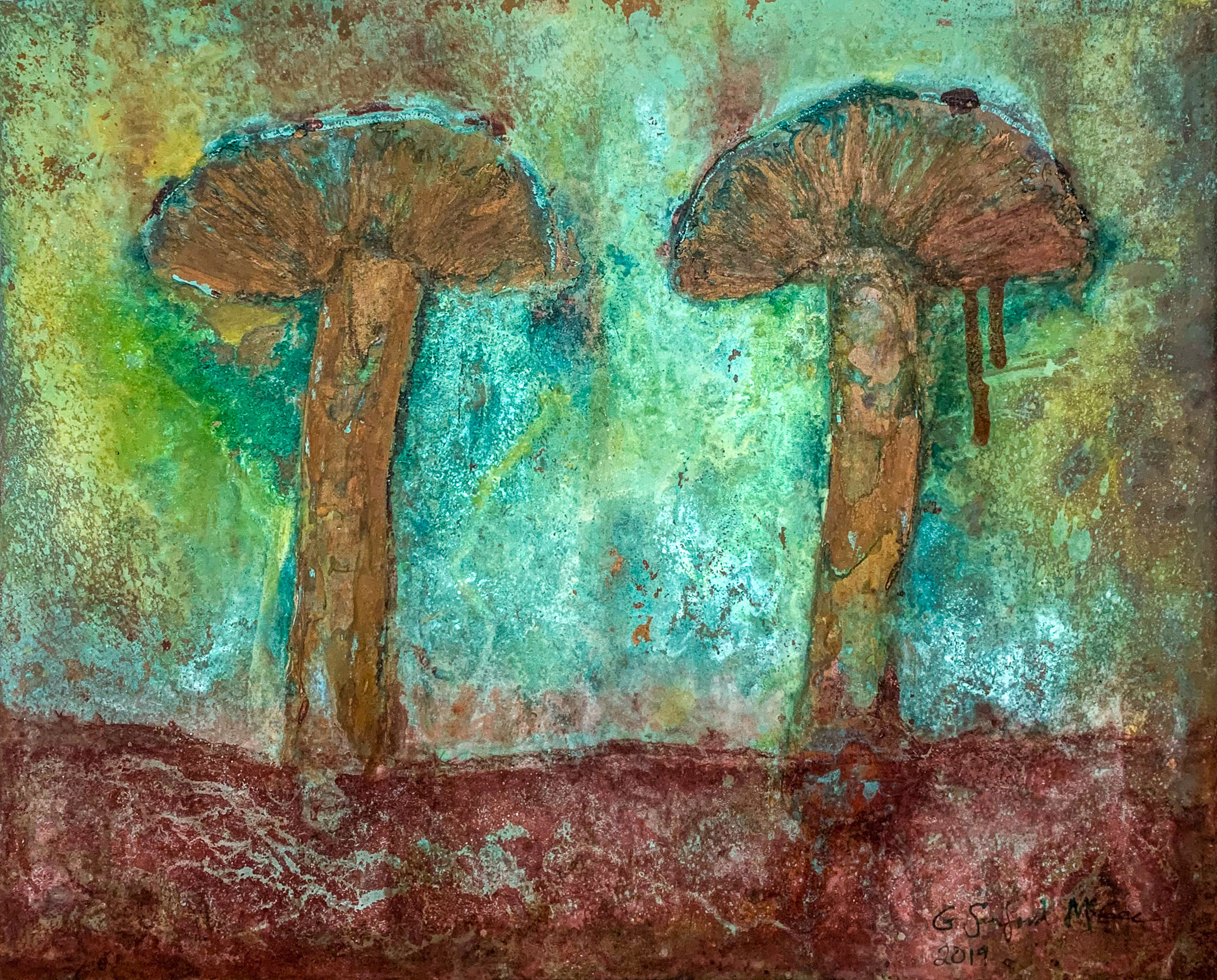 sanford-mcgee-copper-art-tennessee-two-mushrooms.jpg