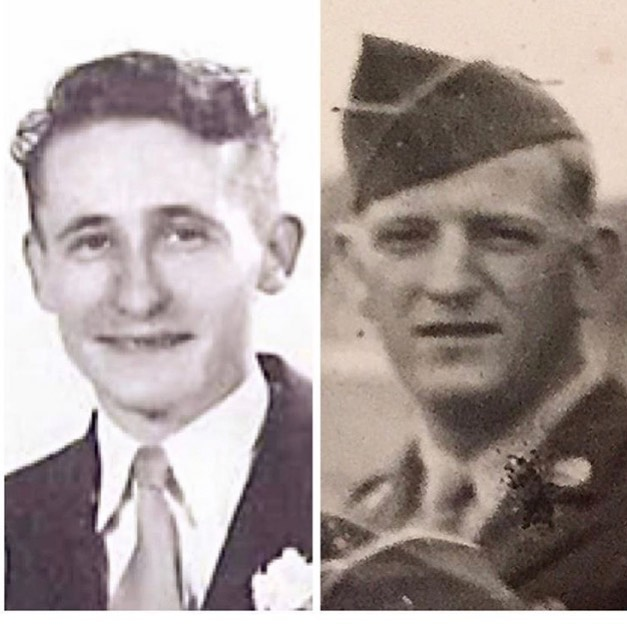 So proud to share this photo of both of my Grandfathers who fought in WWII. God Bless all the brave Americans that have served & paid the ultimate sacrifice. We can't forget them or their families on #memorialday or any day. #grateful #proudtobeanamerican #neverforget