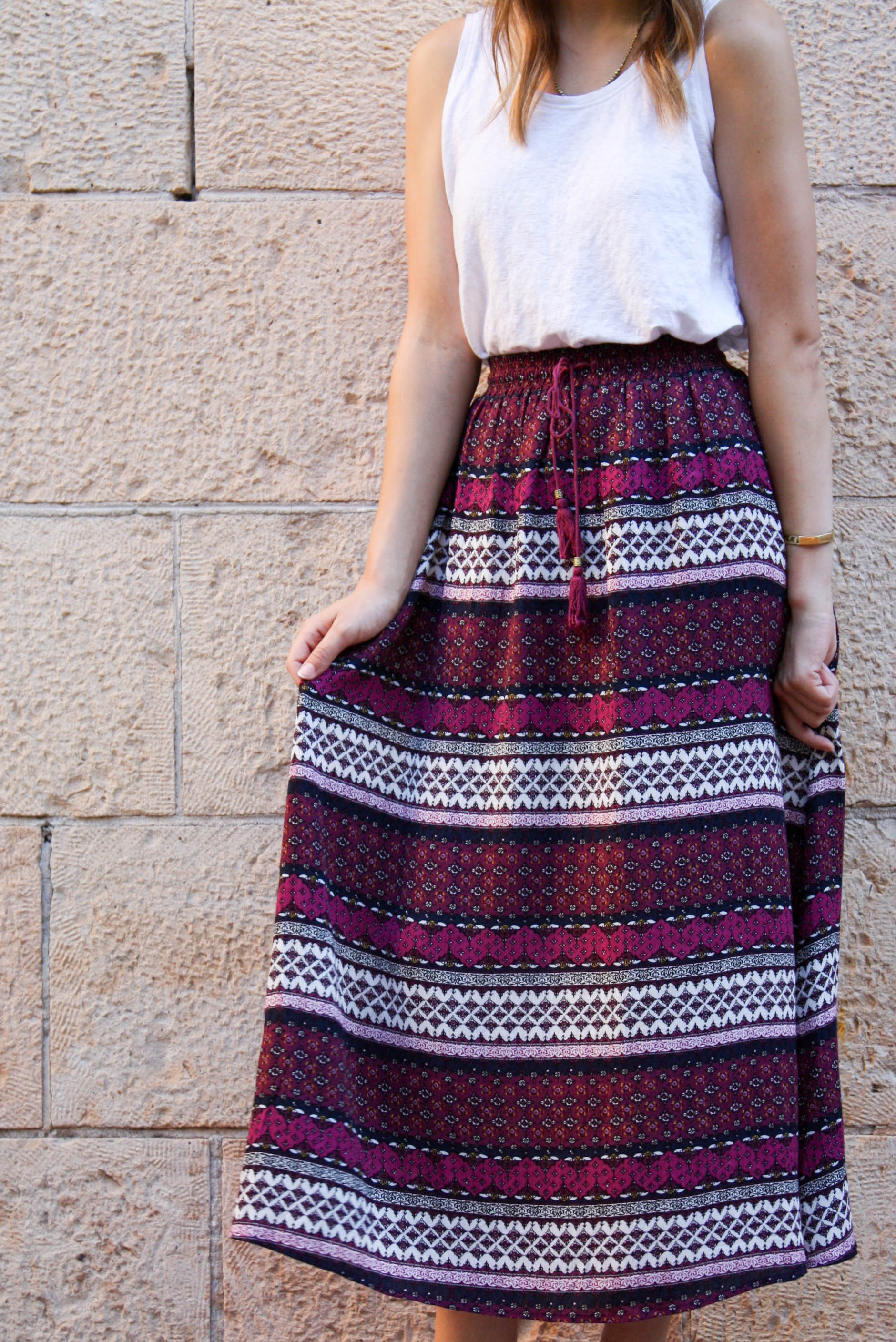 Style Me Fair Ethical Outfit Colorful skirt