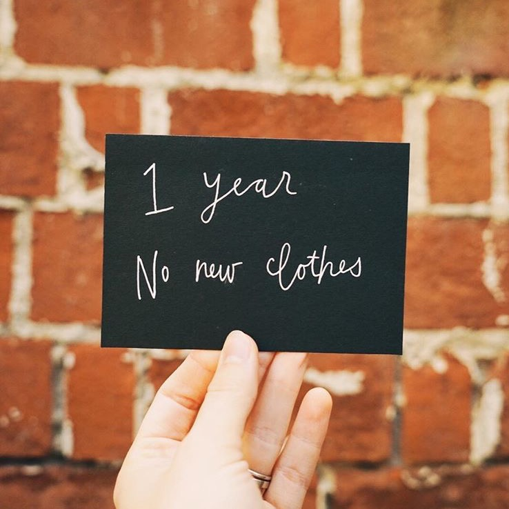 One Year, No New Clothes