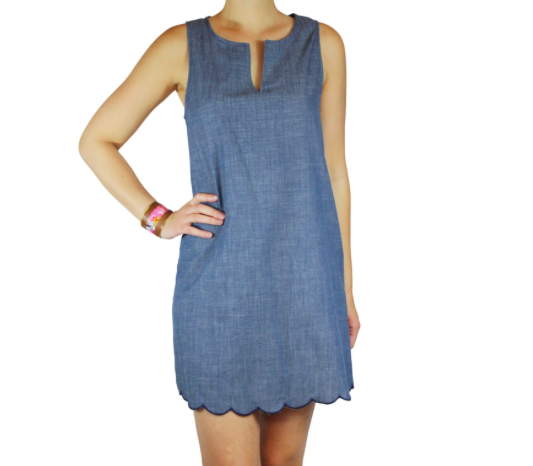 Chambray Dress - Sweet Lupine | $46 | *Use code 'stylemefair' for 15% off