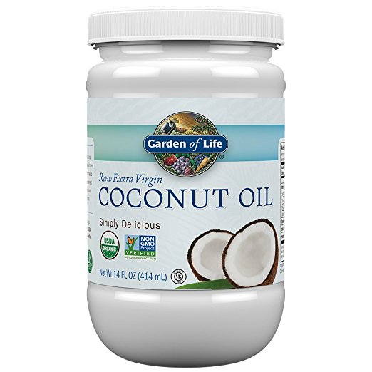 Garden of Life Raw Extra Virgin Coconut Oil, $6.50