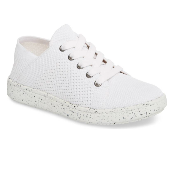 White Sneakers - Eileen Fisher | $195I can't take these off! Comfortable, sporty, chic, and they go with everything.