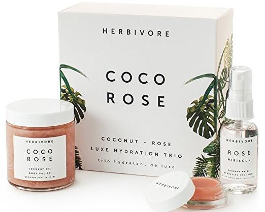 Coco Rose Skincare Hydration Trio - Herbivore | $40