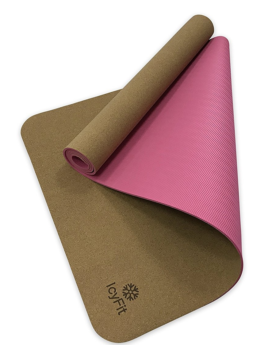 Eco-Friendly Cork Yoga Mat - Icy fit | $30