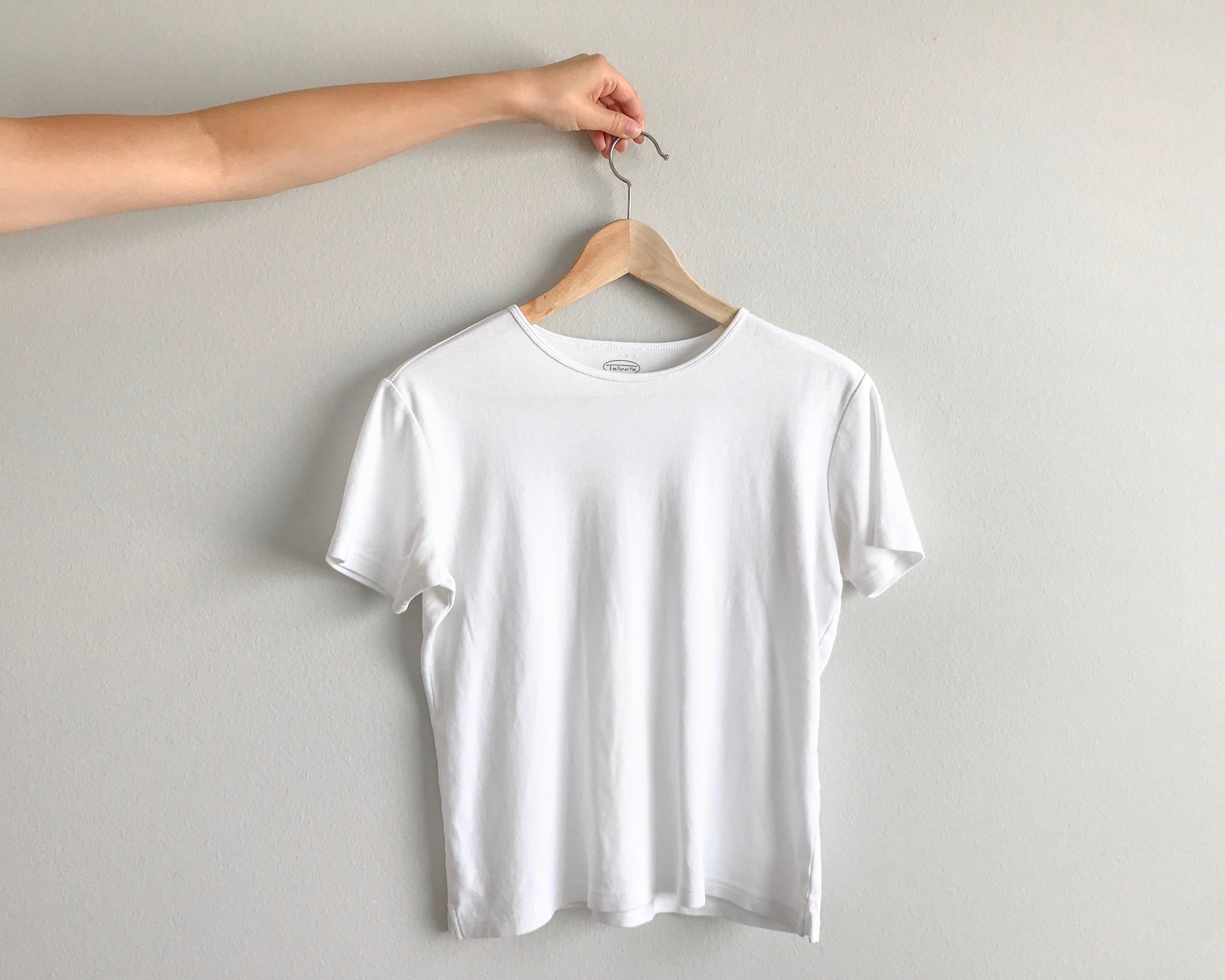 Ethically Made White Tees for Women