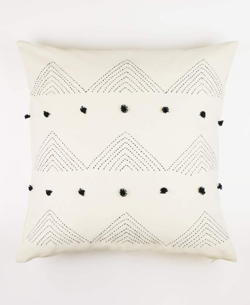 Fair Trade Embroidered Toss Pillow | $48 -