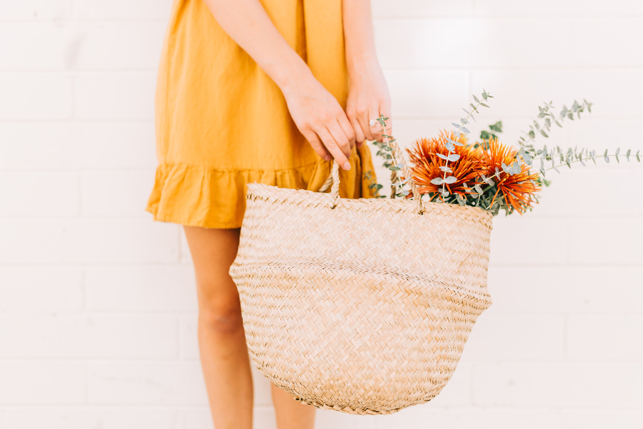 Hand Woven Basket - Ten Thousand Villages | $19 with code STYLEMEFAIR25 for 25% off