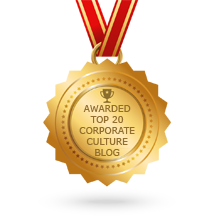 We were recently Award Top 20 Corporate Culture Blogs. Click here to check it out.