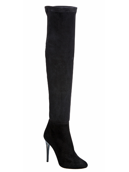Jimmy Choo  Suede boots, £1,195