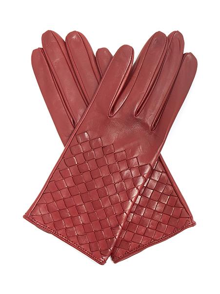 Bottega Veneta  Leather gloves, £290