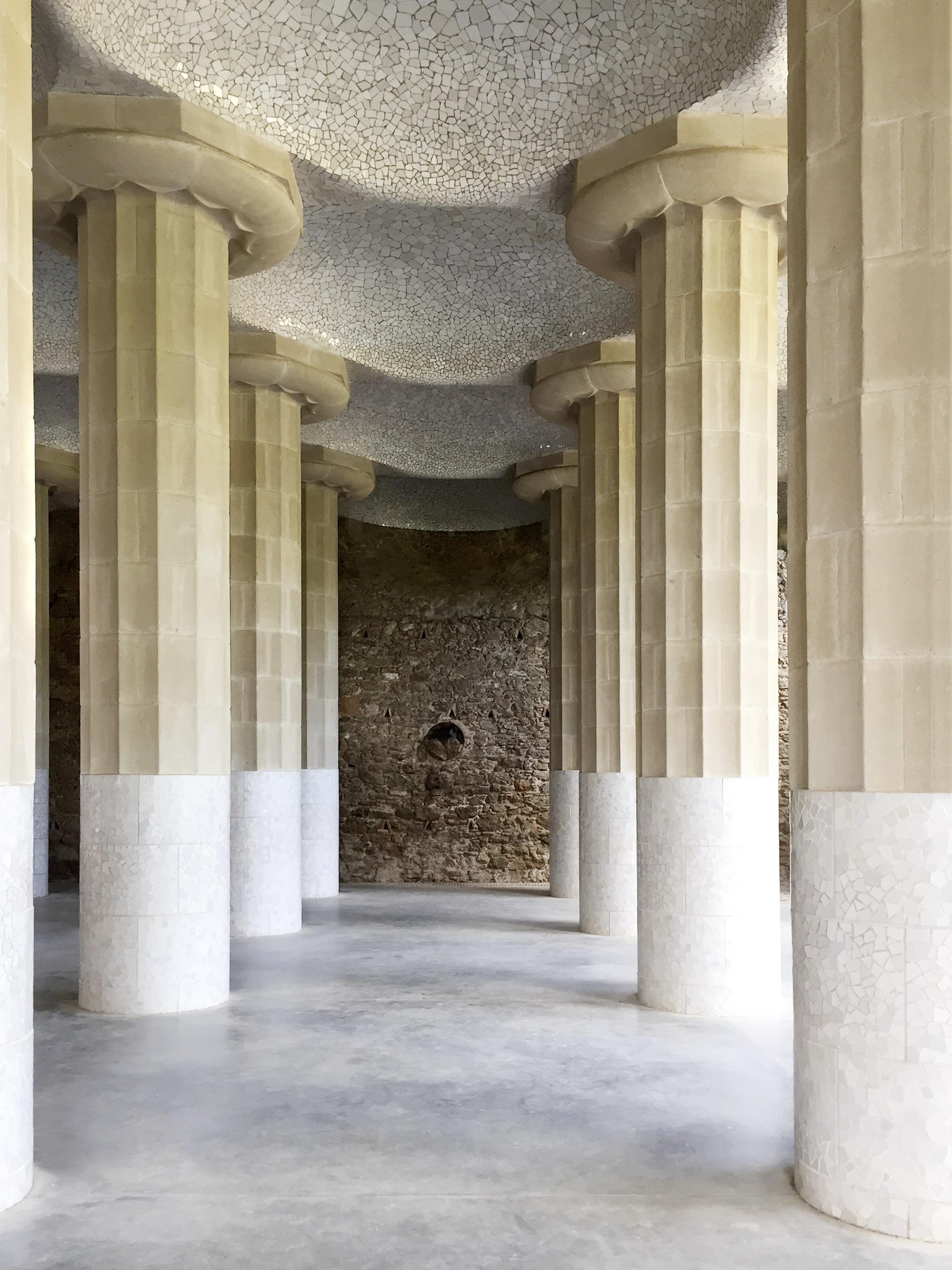 Columns ~ Gaudi.JPG