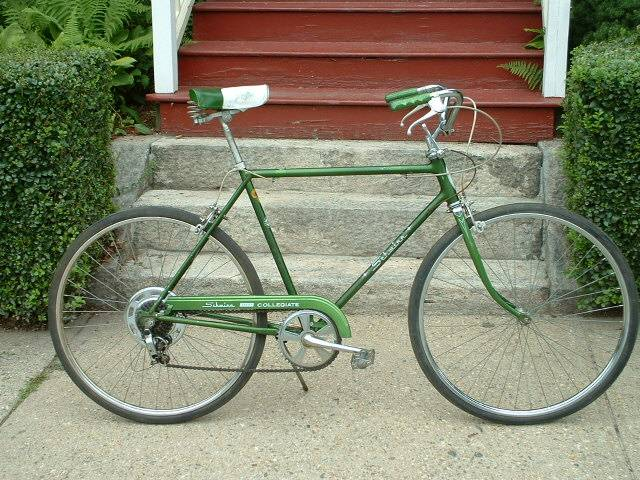 - The oldest purchase that I still own today is my bike. It's a 1976 Schwinn Collegiate. It's sparkly green. It came with a pair of side baskets on the back and the whole headlight taillight combo with a generator. And my neighbor gave me a 1950s vintage bell to put on the handlebars.So I bought this classic bike 12 years ago in Oshkosh Wisconsin for only $10. And at 42 years old, It's still worth about $150 today. When I ride it people turn their heads and they ask where I got it. How many hundreds of hours have I spent tuning it up over the course of my life?Maybe before I ask how to price a bike, I should ask what is the value of a bike? It's more than a means of travel, it's also about the look, the feel, the cool factor, the speed, the weight. It's not a commodity for most of us, it's personal, it's cultural.