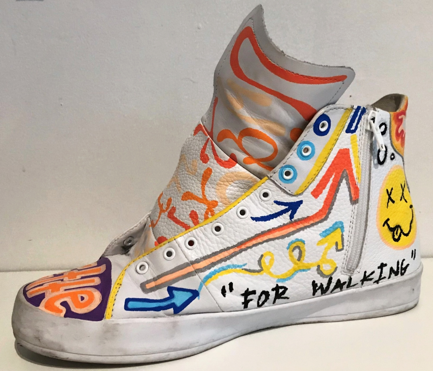 """""""Walking Dead"""" - commissioned shoes"""