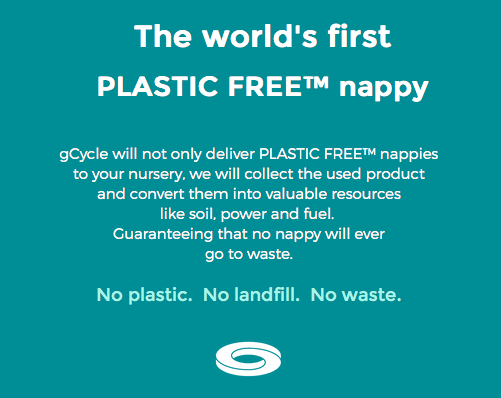 """gCycle delivered to your home - Learn more about the UK""""s first biodegradable nappies delivered and collected to your home"""
