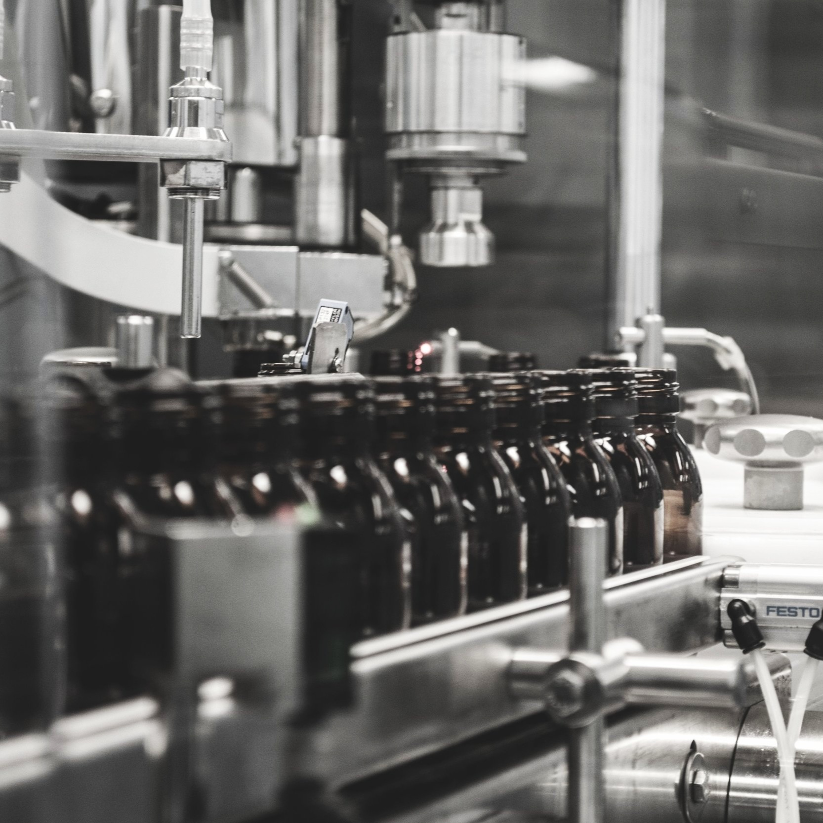 Fragrance Production - With deeply experienced partners in fragrance manufacturing, we manage the process from beginning to end. All fragrances will pass our strict quality control tests to ensure consistency and adherence to safety regulations. Fine fragrance will be compounded, bottled, labeled and shipped to you ready to sell.