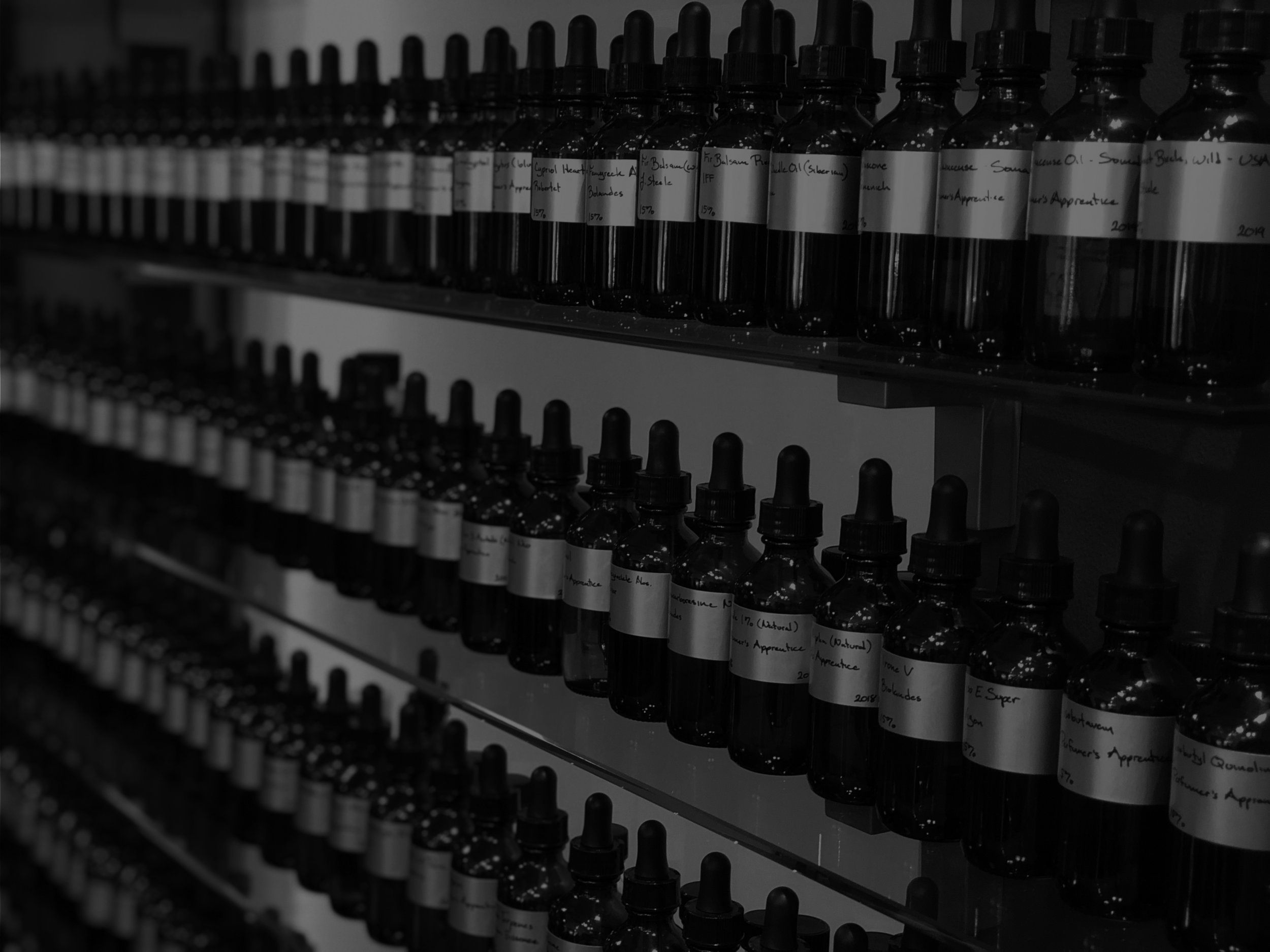 We're a boutique fragrance studio distilling your brand's stories into scent -