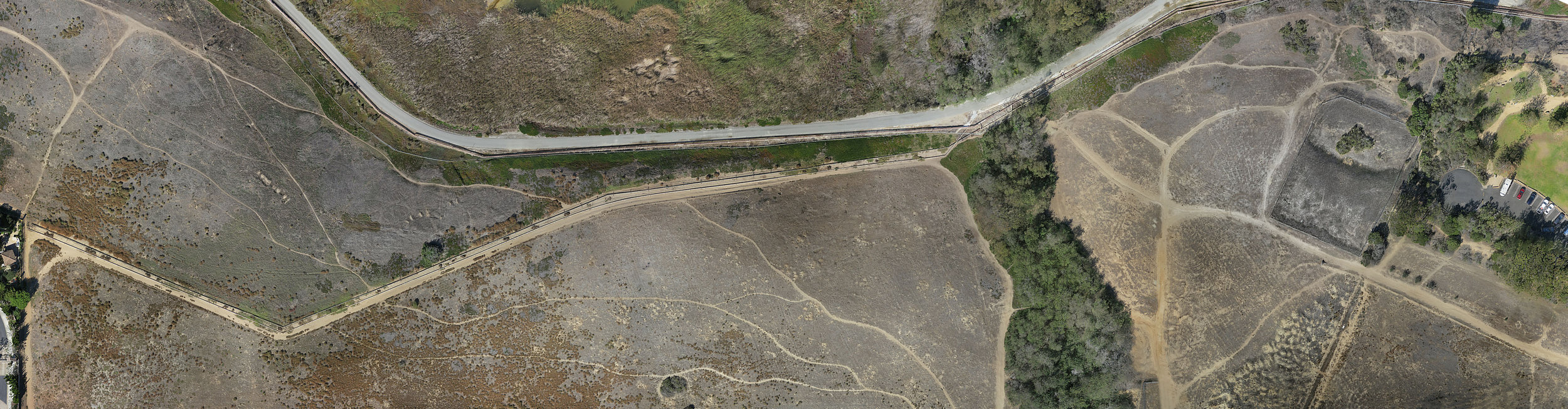 Birds Eye Aerial Drones Golf Ortho