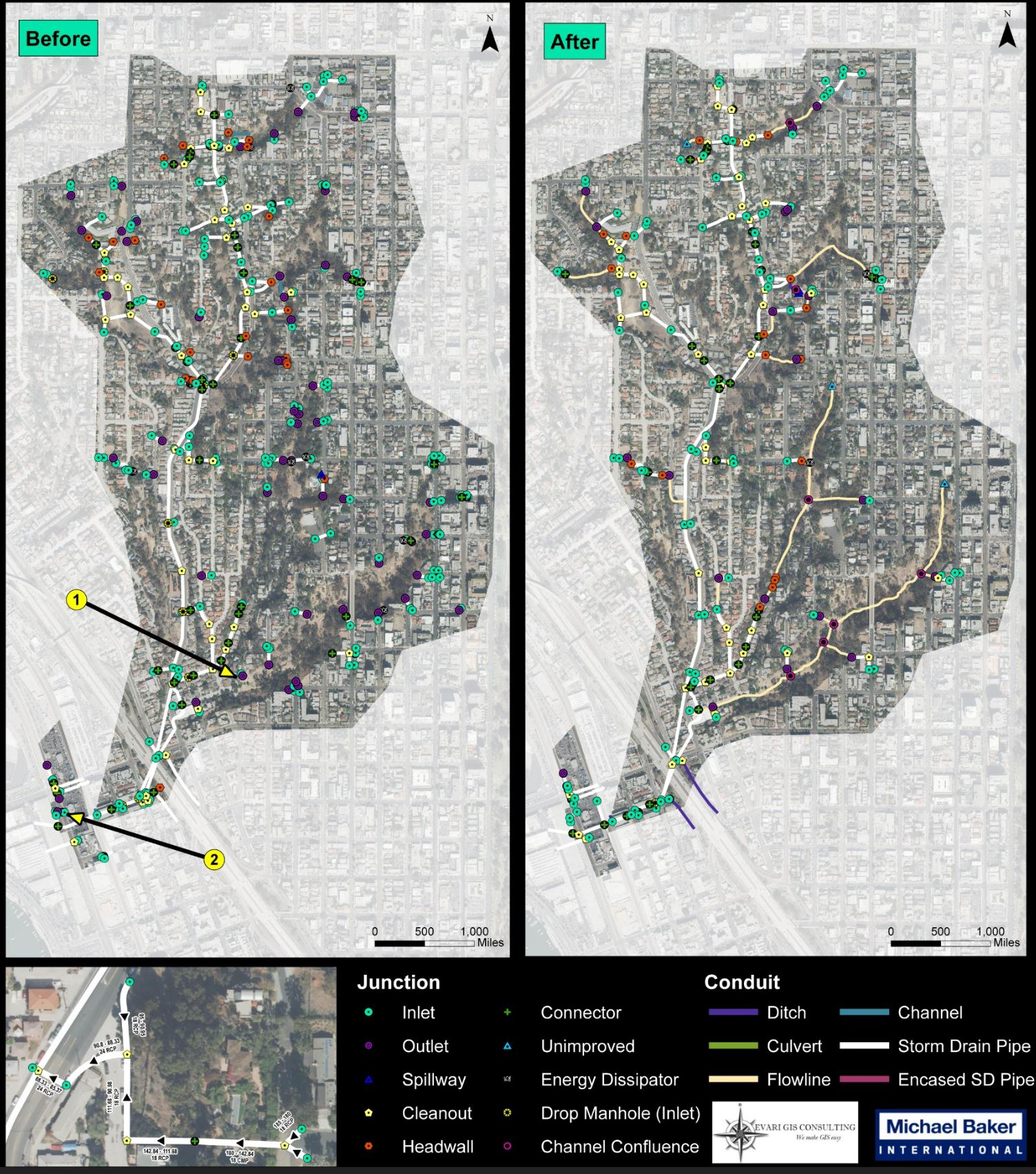 GIS Modeling for Storm Water Management. City of San Diego Stormwater