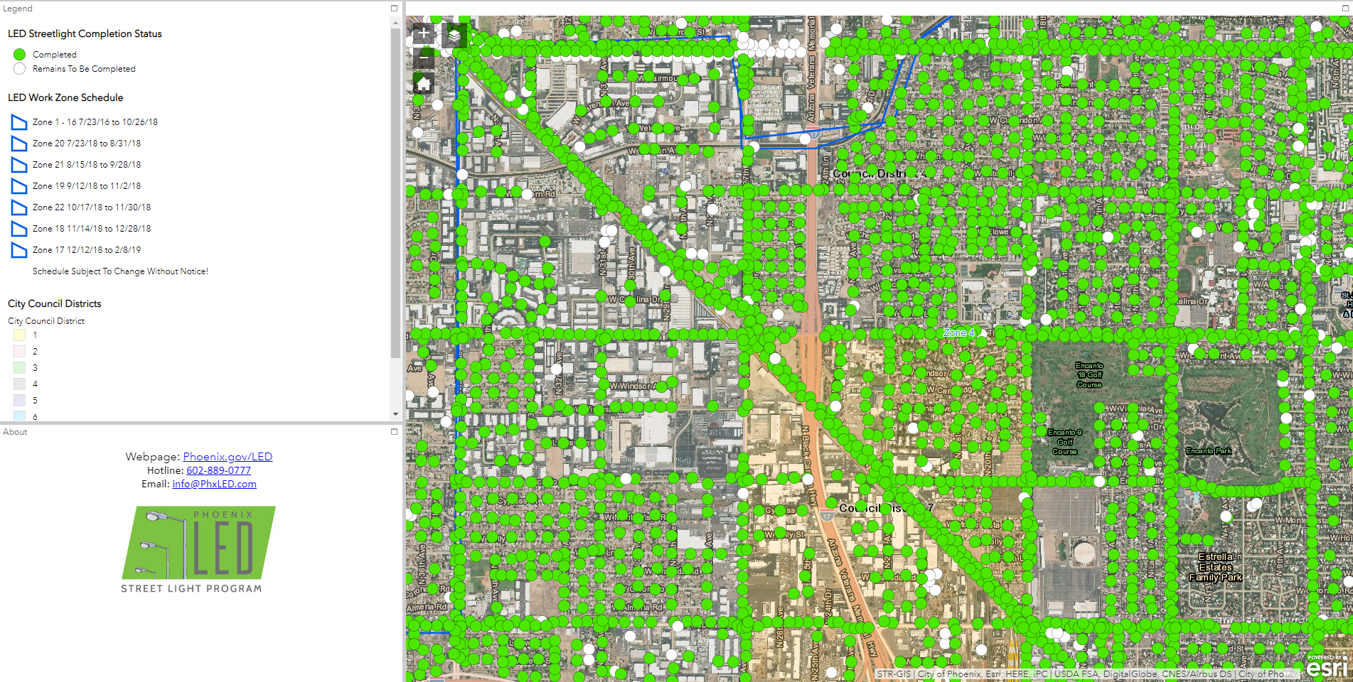 Evari GIS Consulting, Inc  — Street Lighting