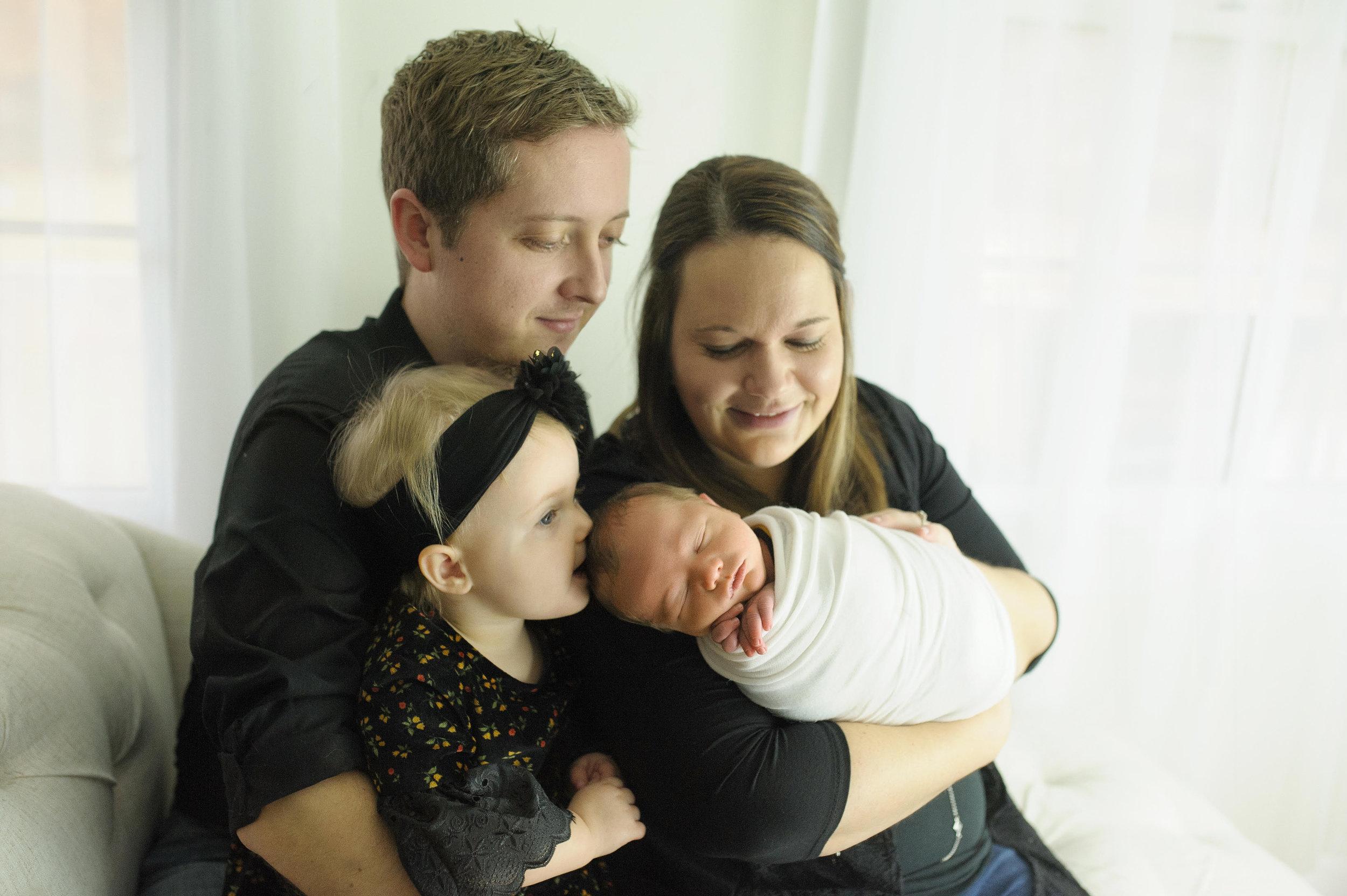Colin, Rachel, Maggie, and Wyatt Helton