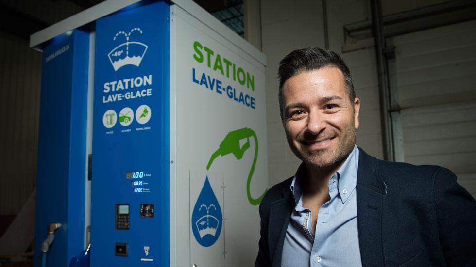 Pierre Néron, président de Cristal Innovation Inc.  Photo Archives / Agence QMI