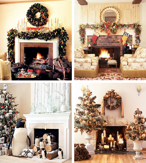 HOME DECORATION - Set a festive holiday mood throughout your house with our simple Christmas decorating ideas. Every room can use a Christmas touch, and we cover all your indoor spaces with our classic Christmas inspiration. Whether you have a traditional home or prefer a more contemporary Christmas look in your living room, kitchen, and entry, our holiday ideas will inspire you. If your fireplace deserves a little focus, lets make it festive with garlands, wreaths and twinkling Christmas lights. But don't let us dictate your Christmas decor decisions -- get custom, just-for-you results with our Easy Holiday Decorating Idea Finder, a fun and free tool that helps you transform your Christmas home into a holiday haven.