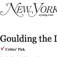 New York Magazine, critics pick- 2016