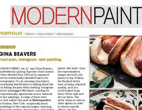 Modern Painters, feature- 2014